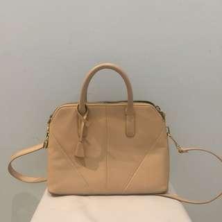 Zara creme bag