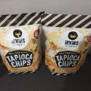 🔥現貨 Irvis Tapioca Chips/Fish Skin and Potato Chips 魚皮