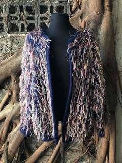 Designer Faux Fur Coat By Tiamsey