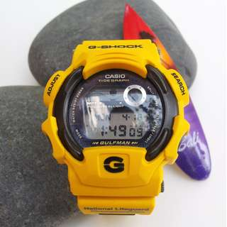 CASIO G SHOCK DW-9700UL 1999 USLA LIFEGUARD CHAMPIONSHIP EDITION