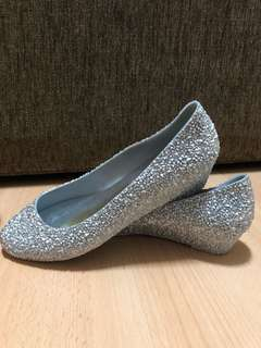 Brand new jelly shoes wedges size 38