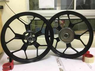 SPORTS RIM-XR25-BLACK (MVR1)-LC135