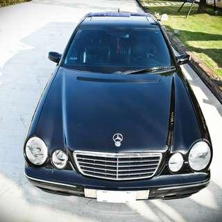 BENZ E280 2000款 自售中古車 二手車 一手車、二手車、中古車、實價實車、全額貸款、低月付、零頭款、免保人