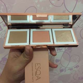 ESQA The Gooddess Cheek Pallete
