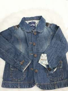 Jacket Denim Curly 4th