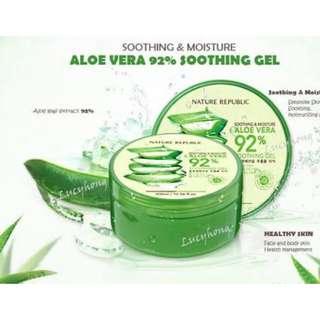 Nature Republic Aloe Vera Gel 100% ORIGINAL