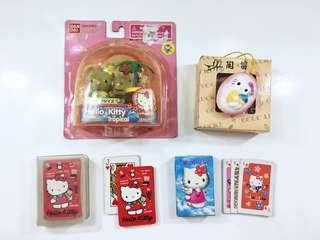Hello Kitty Play Items Set
