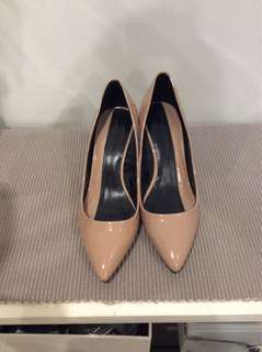 New Zara nude colour heels