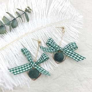 The Green House Earrings