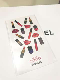 (BN) Chanel Coco Rouge Stickers