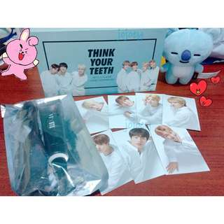 VT x BTS Jumbo Tooth Brush Kit