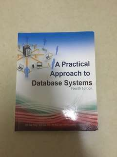 A Practical Approach yo Database Systems - Fourth Edition