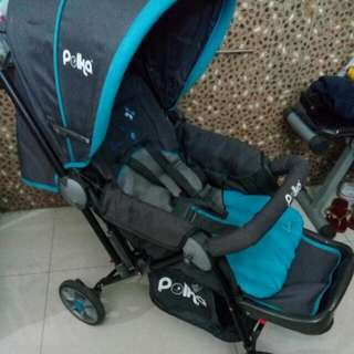 Baby Stroller - Polka