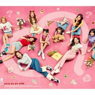 [PREORDER] TWICE 5th Mini Album - What is LOVE?