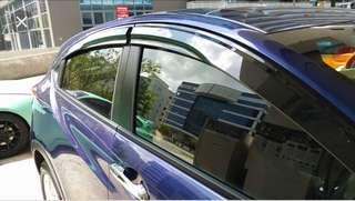 Honda vezel rain visor