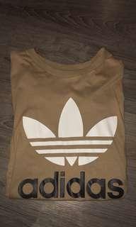 Tan Adidas Top
