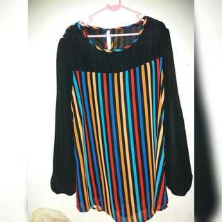 Stripe Blouse #Jan55