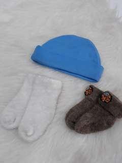 Topi & kaus kaki Newborn