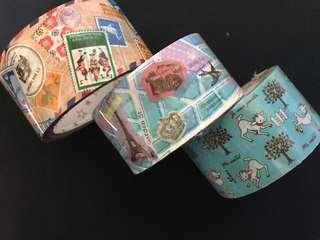 日本拼布風膠帶