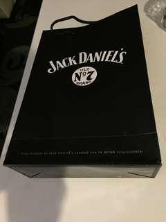 Jack Daniel paper bag ( 14,9 & half , 4 inches )