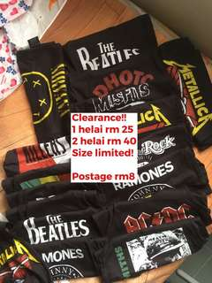 CLEARANCE Hoodie & Singlet band for kids!!