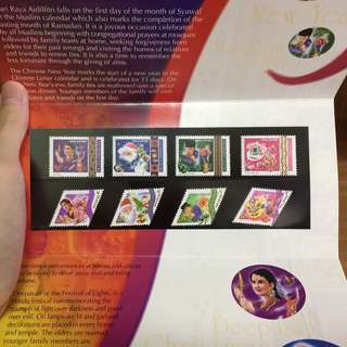 Stamp sets brand new 2 to go at stated price
