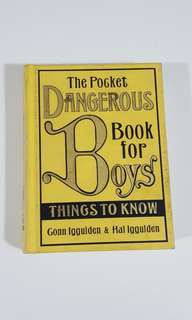 The Pocket Dangerous Book for Boys by Iggulden [Hardcover]