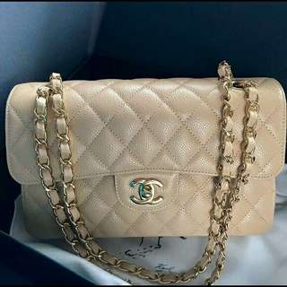 Auth. CHANEL flap bag