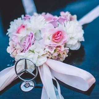 Ready Stock - DIY wedding car decoration set