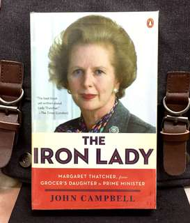 《New Book Condition + Classic Margaret Thatcher Biography》John Campbell - THE IRON LADY : Margaret Thatcher, from Grocer's Daughter to Prime Minister