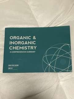 Organic and Inorganic Chemistry Summary Book