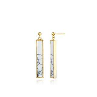 Marble Earring No. 1