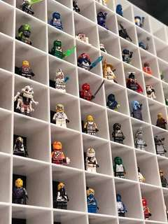 30 Slots Lego Figures display casing