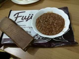 Fuji chocolate bar