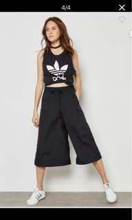 Adidas originals 防風材質寬褲