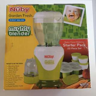 Food processor for baby