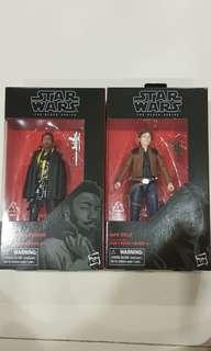 Star Wars Black Series Solo Movie - Han Solo & Lando Calrissian