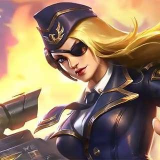 Black Rose Admiral (Lesley Elite Skin)