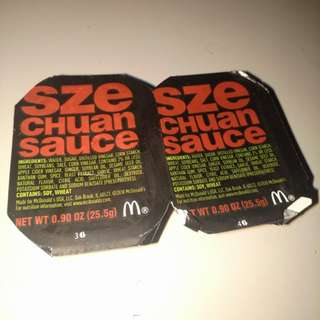 McDonald's SzeChuan Sauce Rick and Morty