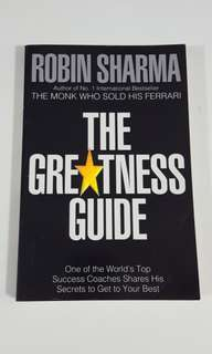 The Greatness Guide by Robin Sharma