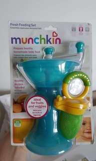 Munchkin fresh feeding set - NEW