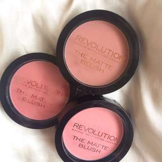 Revolution The Matte Blush