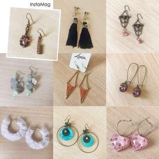 Earrings From $1 each pair