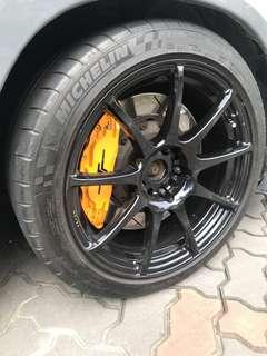 Wedsport SA70 rims and tyres