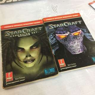 Starcraft Game Guide Book Vintage Original