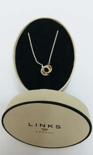 Links Of London Necklace 全新純銀頸鏈