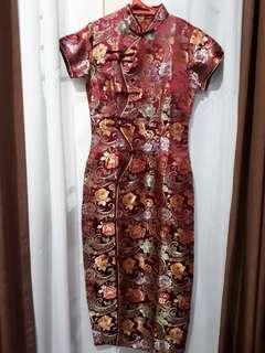 Cheongsam Long Dress