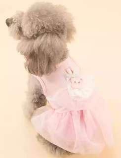 🚚 【預購】狗狗裙子夏季寵物衣服小狗背心春秋裝薄款泰迪小型犬幼犬公主裙夏