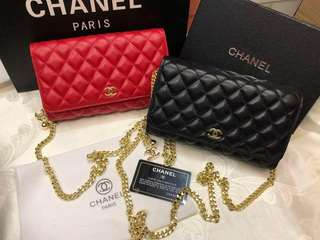 Chanel Wallet with Strap