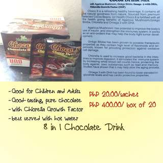 8in1 CHOCOLATE DRINK with CGF